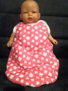 gigoteuse pour poupée | 30 cm | 36 cm | Corolle | jouet | comme maman | patron couture | gratuit | tutoriel