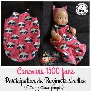 gigoteuse pour poupée   30 cm   36 cm   Corolle   jouet   comme maman   patron couture   gratuit   tutoriel