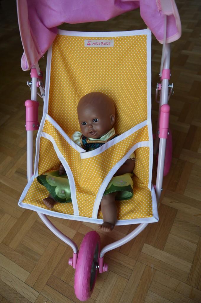 poussette de poupée | recup | upcycling | couture | sewing | jouet | doll