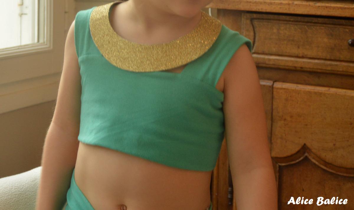 déguisement de la princesse Jasmine | Disney | jouet enfant | couture | sewing | anniversaire