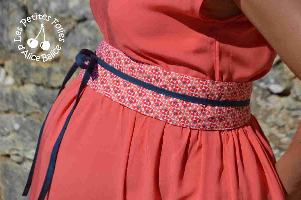 ceinture obi pour femme enceinte avec patron imprimer alice balice couture et diy. Black Bedroom Furniture Sets. Home Design Ideas
