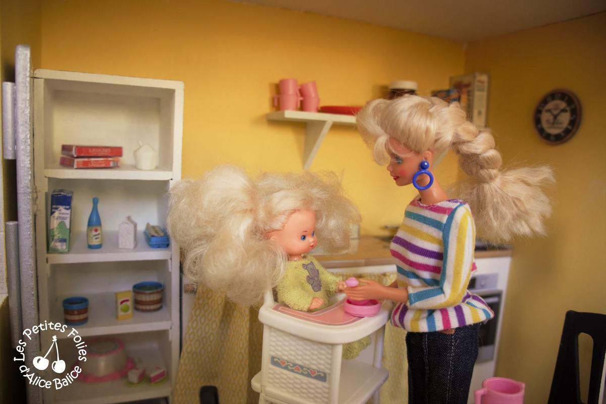 Maison de poupée Barbie | DIY | Doll house | 1/16 ème