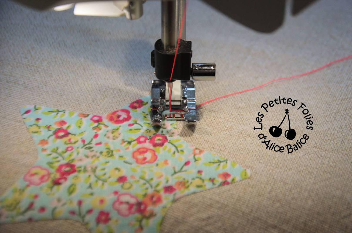Coudre un appliqué | tuto technique | couture | sewing | gratuit