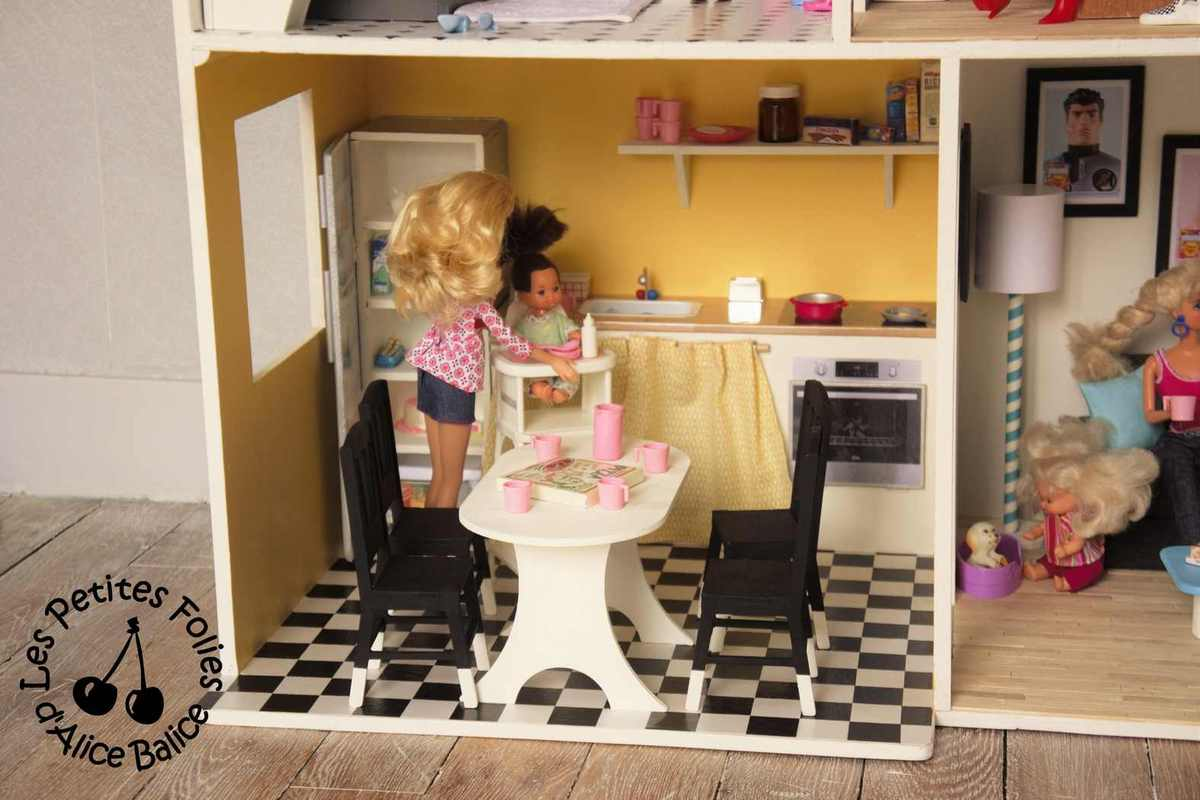 Maison de poupée Barbie | DIY | Doll house | 1/16 ème
