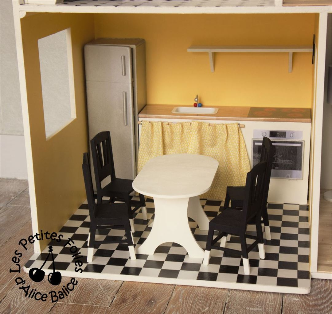 Maison de poupée Barbie | DIY | Doll house | 1/16 ème | cuisine | kitchen |