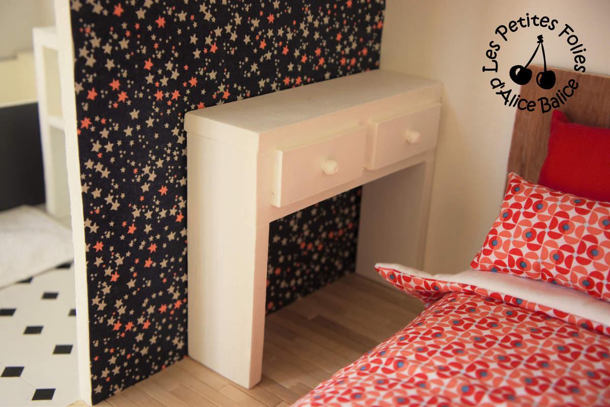 Maison de barbie 6 les meubles chambres et salle de for Fabriquer meuble couture