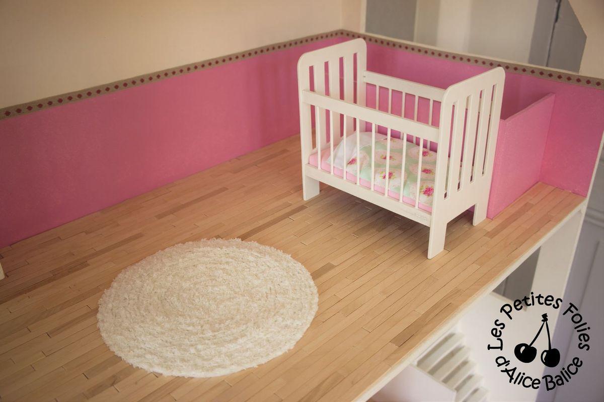 maison de barbie 6 les meubles chambres et salle de. Black Bedroom Furniture Sets. Home Design Ideas