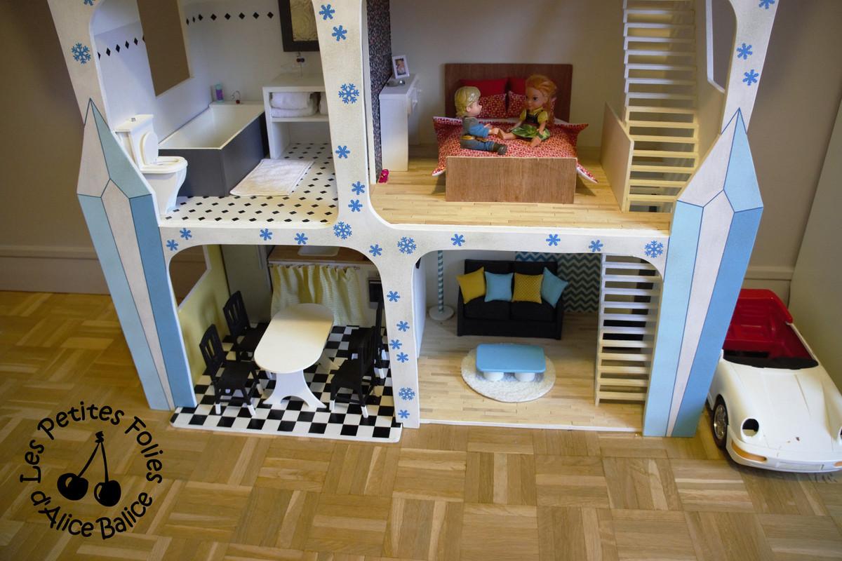 Quand la maison devient château !