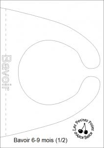 alicebalice patron bavoir 6 9 mois 1 alice balice couture et diy loisirs cr atifs. Black Bedroom Furniture Sets. Home Design Ideas