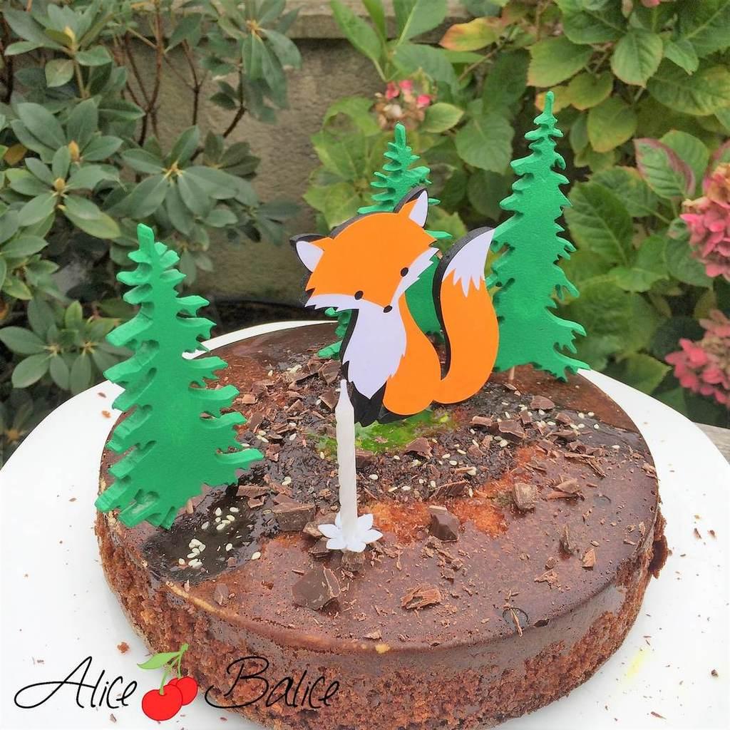 alice balice | anniversaire | thème forêt renard sapins automne
