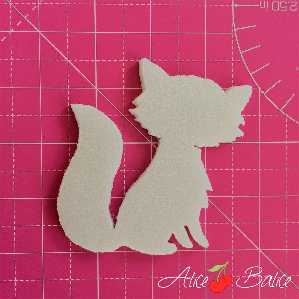 alice balice | anniversaire | thème forêt renard sapins automne | tutoriel découpe polystyrène
