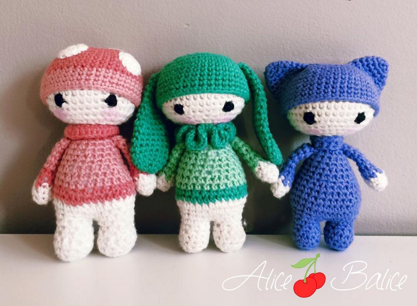 Amigurumi Patron Gratuit : Tuto crochet tiny lalylala mes petits amis amigurumi alice