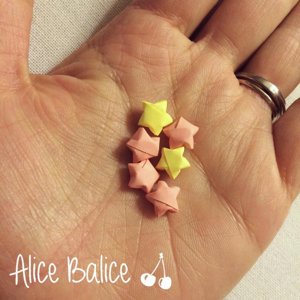 Étoiles origami | papier | cute | tuto diy | gratuit