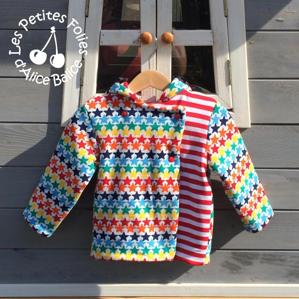 Sweat Ottobre design | peps | flashy | couture | sewing | patron couture | vêtement enfant