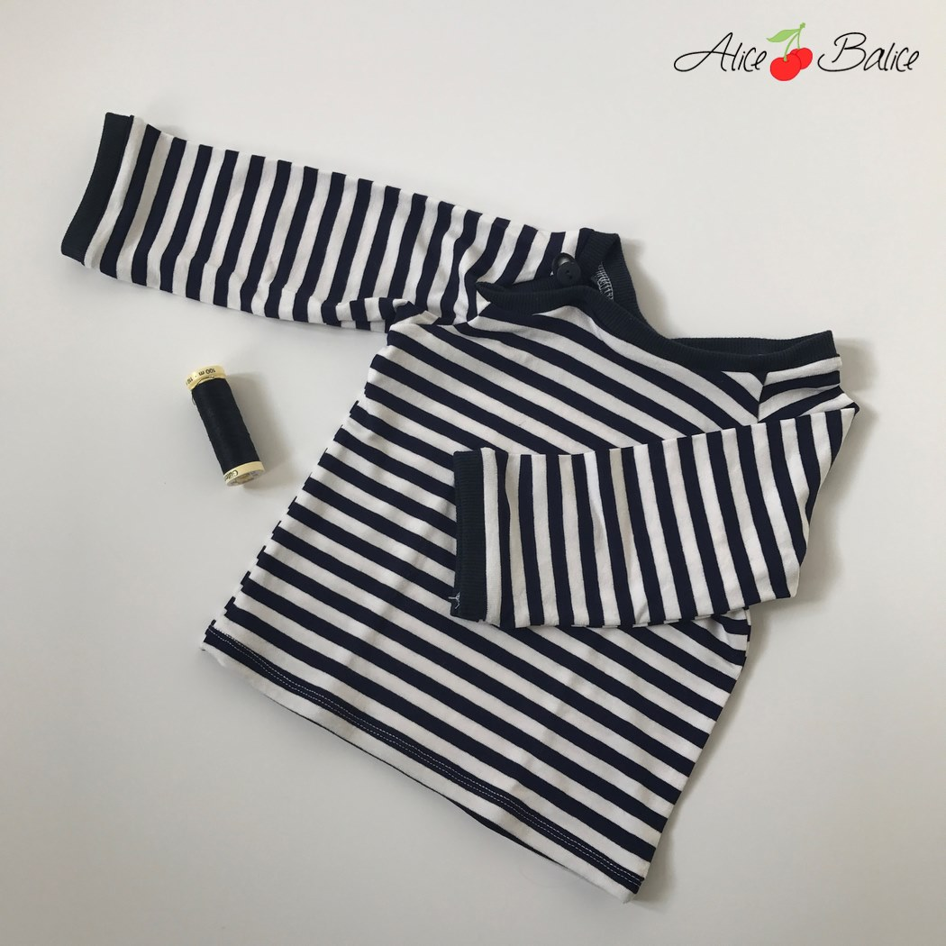 t-shirt enfant | Ottobre Design | Lil' Darling | couture | sewing | vêtement | test cours de couture en ligne Makerist | jersey