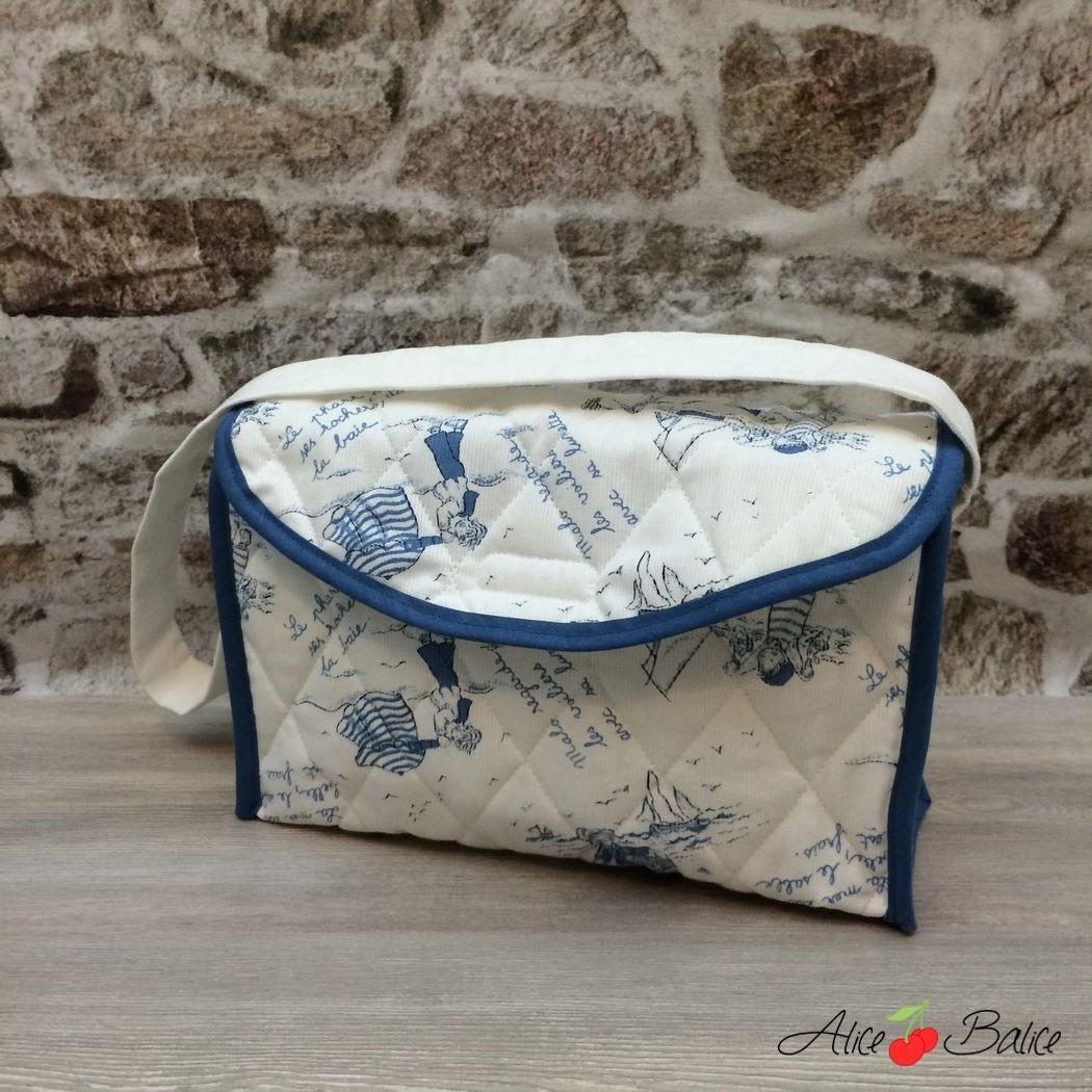 sac à langer pour poupée | patron couture gratuit | sewing | bébé | doll | poupon | trousseau de naissance pour poupée