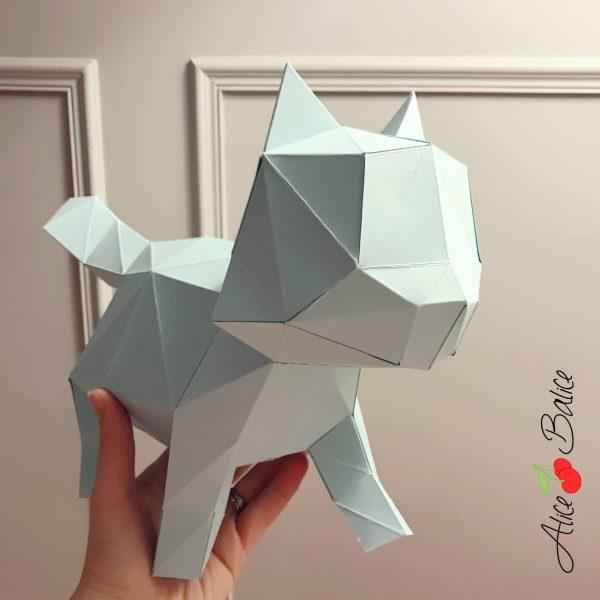 agent paper | alice balice ambassadrice | origami | jouet | deco | papier | chat chlorophylle