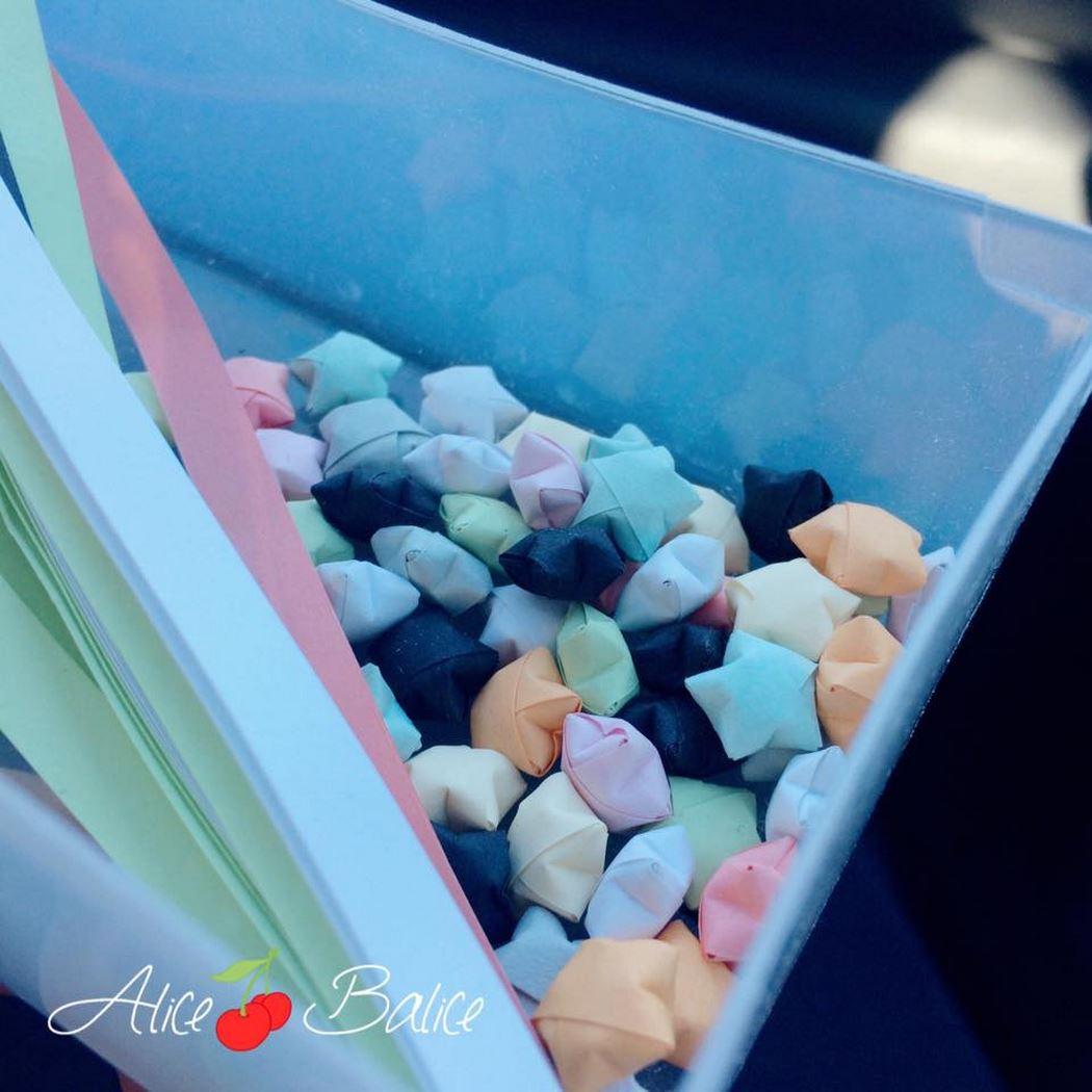 alice balice | etoiles origami | tuto gratuit | tuto video | mobile bébé