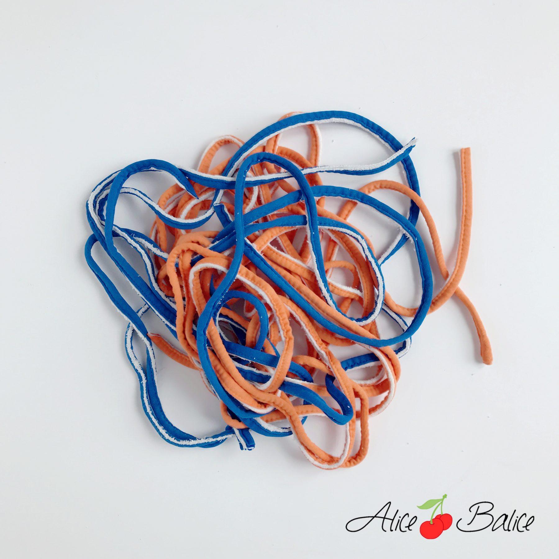 corbeille en crochet | upcycling | recyclage | recup | matelas à langer
