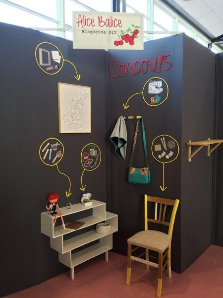 alice balice | diy | loisirs créatifs | stand creativa rouen | blogueuse DIY | bloguguse couture