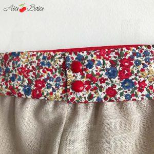 alice balice   robe de cortège   petite flle enfant d'honneur   couture   sewing   Liberty of London   patron couture   mariage   wedding