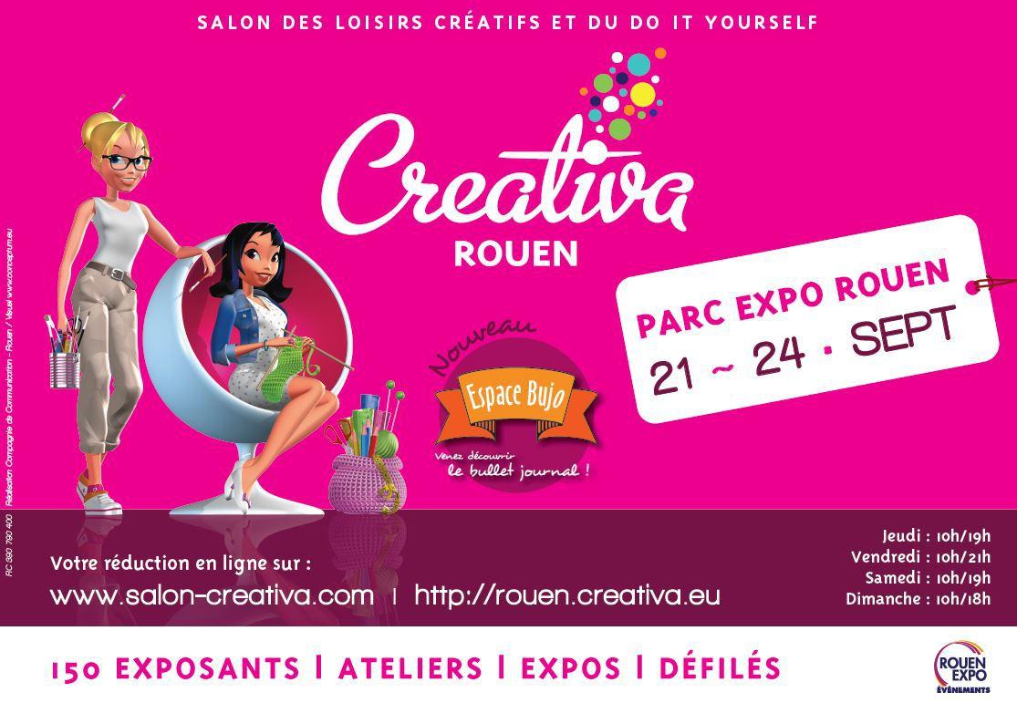 Retour sur creativa rouen 2016 concours inside alice for Salon du chiot rouen