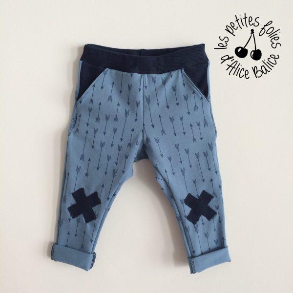 alice balice | sarouel bébé | couture enfant | pantalon | patron couture