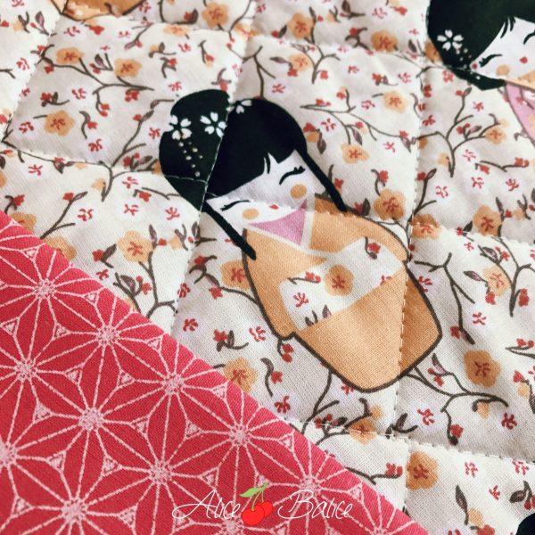 alice balice | matelasser son tissu avec un guide couture | tuto couture technique | sewing tutorial