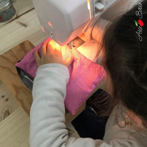 alice balice | tutoriel bouillotte sèche | couture avec les enfants | débutant | gratuit | cadeau de Noël