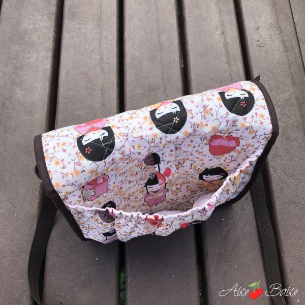 alice balice | sac à puce | patron couture | sac à tout | enfant | ado | sac de gym danse | sac à goûter | sac d'écolier