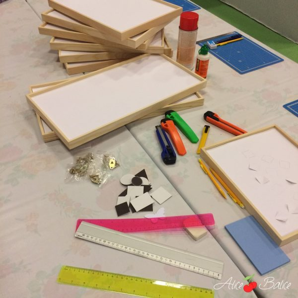 alice balice | salon créations et savoir-faire 2016 | csf | atelier créatif | cadre 3D