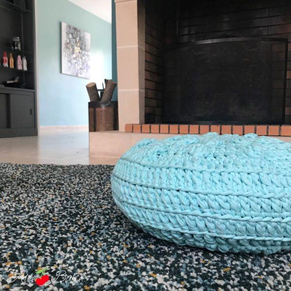 alice balice | pôuf en crochet | décoration | tuto caro tricote | eyrolles