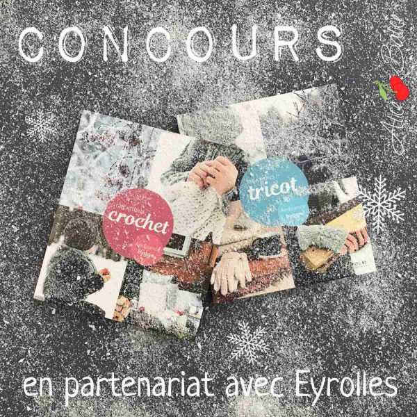 alice balice | eyrolles loisirs créatifs | créations tricot crochet epipa | concours