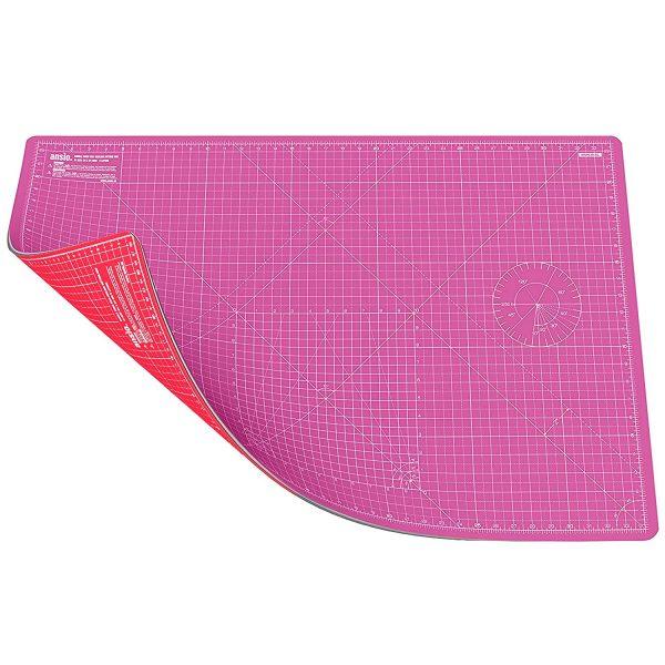 alice balice | idée cadeau créatif | planche de découpe autocicatrisante 90 x 60 cm rose