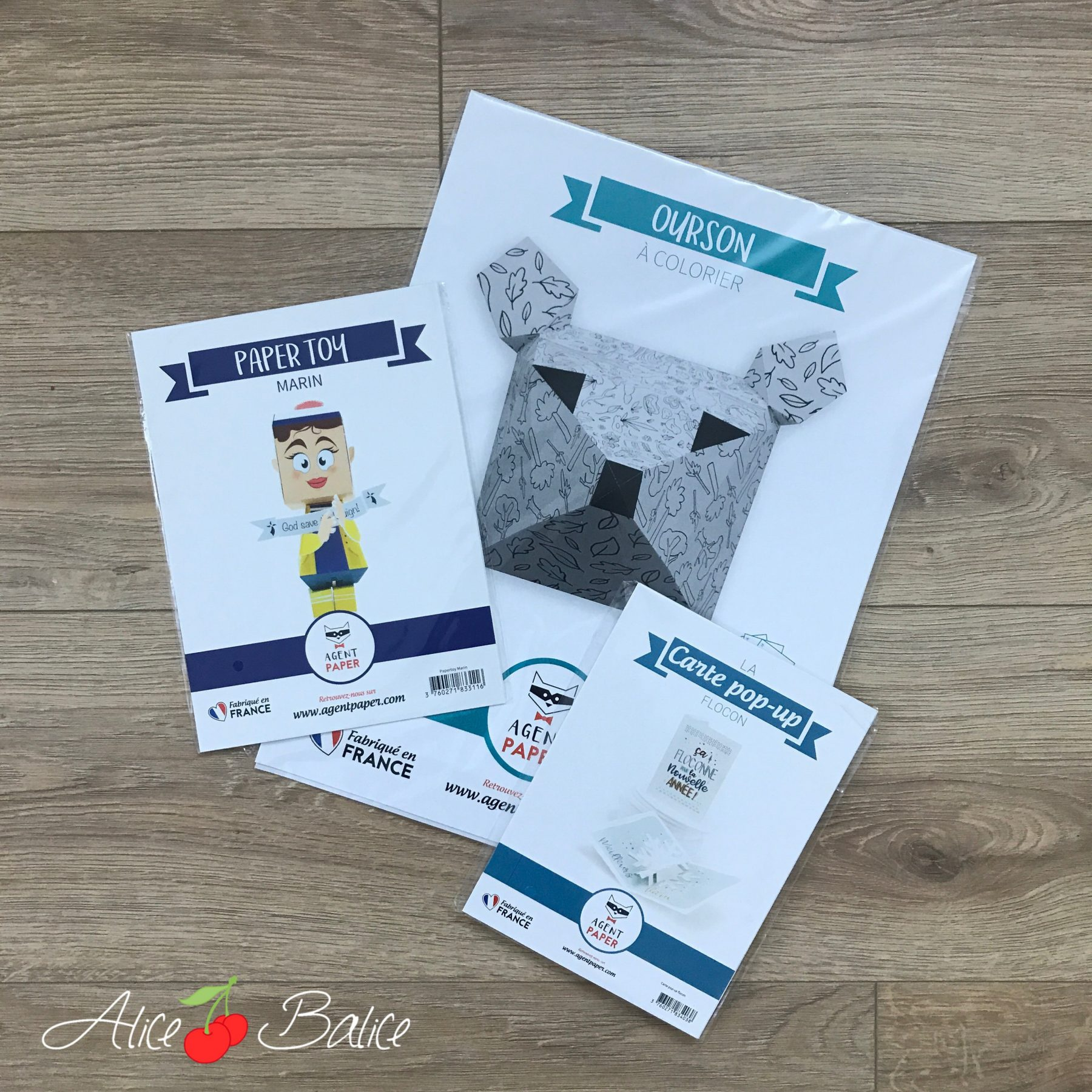 alice balice | test produit | agent paper | decoration