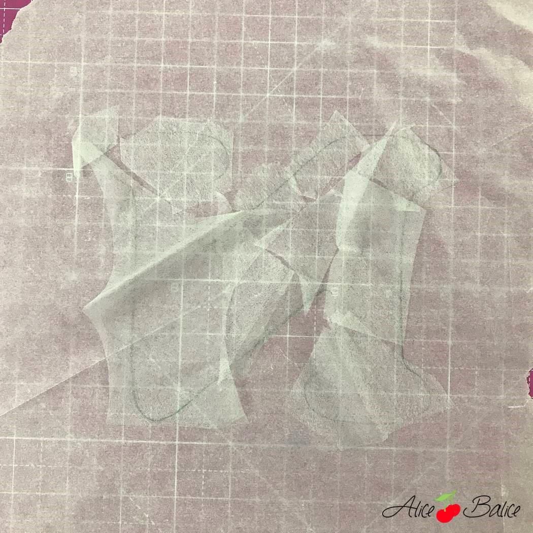 alice balice | astuce couture | tutoriel | vliesofix | thermocollant double face | pénurie
