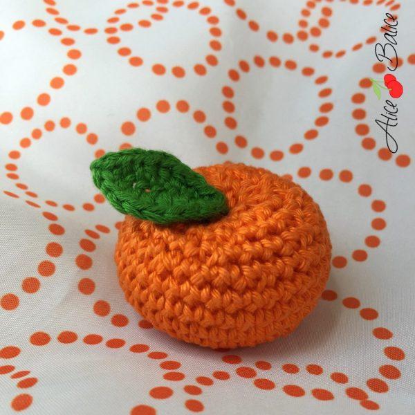 alice balice | clementine au crochet | tutoriel gratuit | tuto | tutorial
