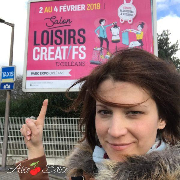 alice balice | coin des blogueuses | salon des loisirs créatifs d'Orléans 2018 | revue de presse | partenariat | DIY