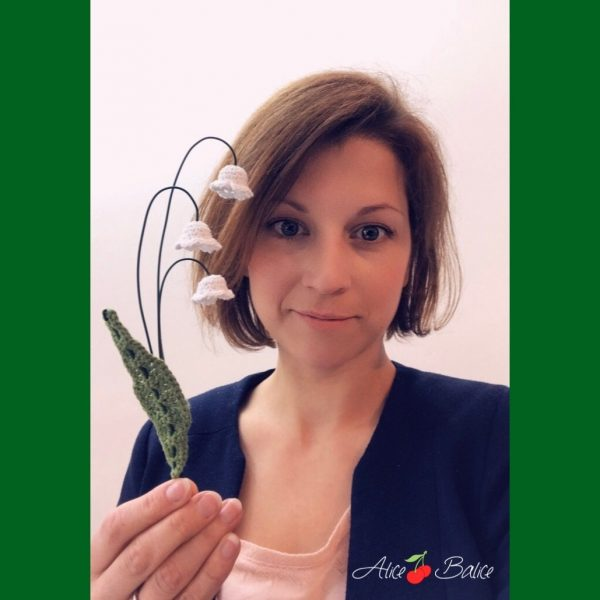 alice balice | brin de muguet au crochet | tuto | tutoriel | tutorial