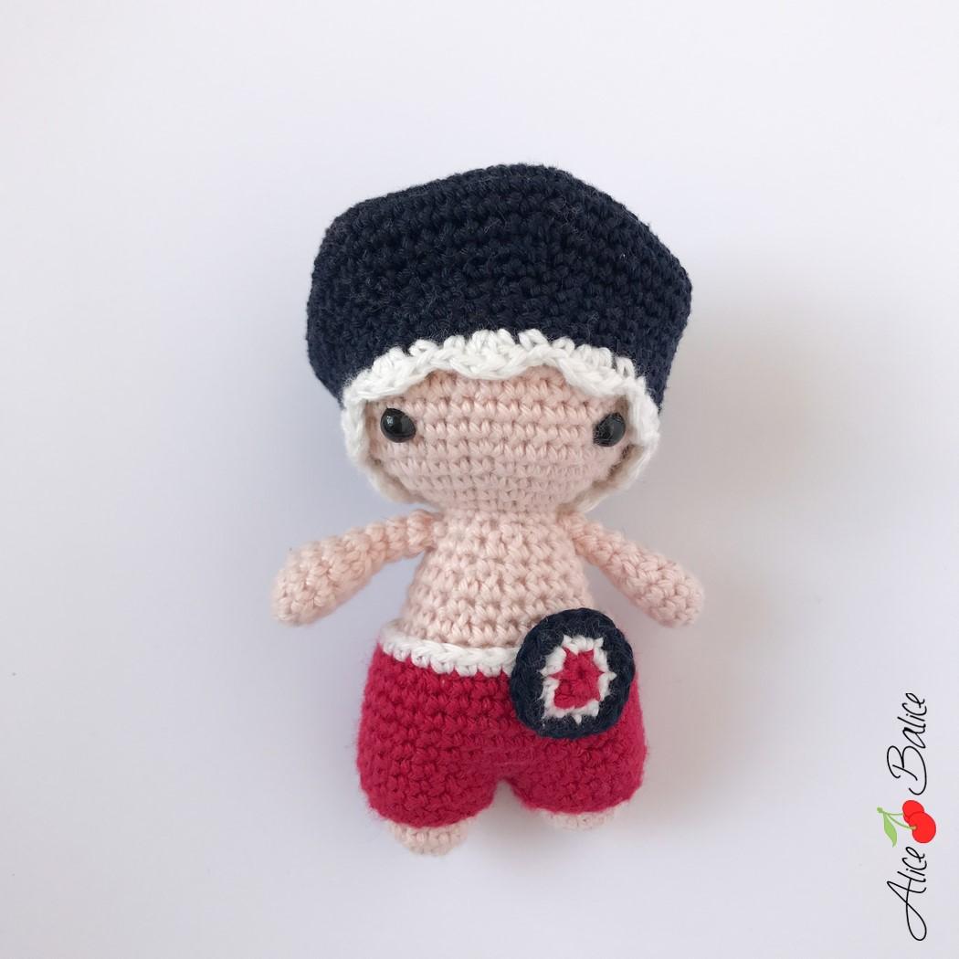 alice balice | tuto crochet | débutante | amigurumi | P'tit Pouce