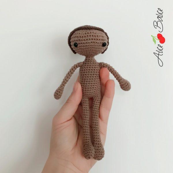 alice balice | tutoriel | crochet | poupée noire | africaine | wax