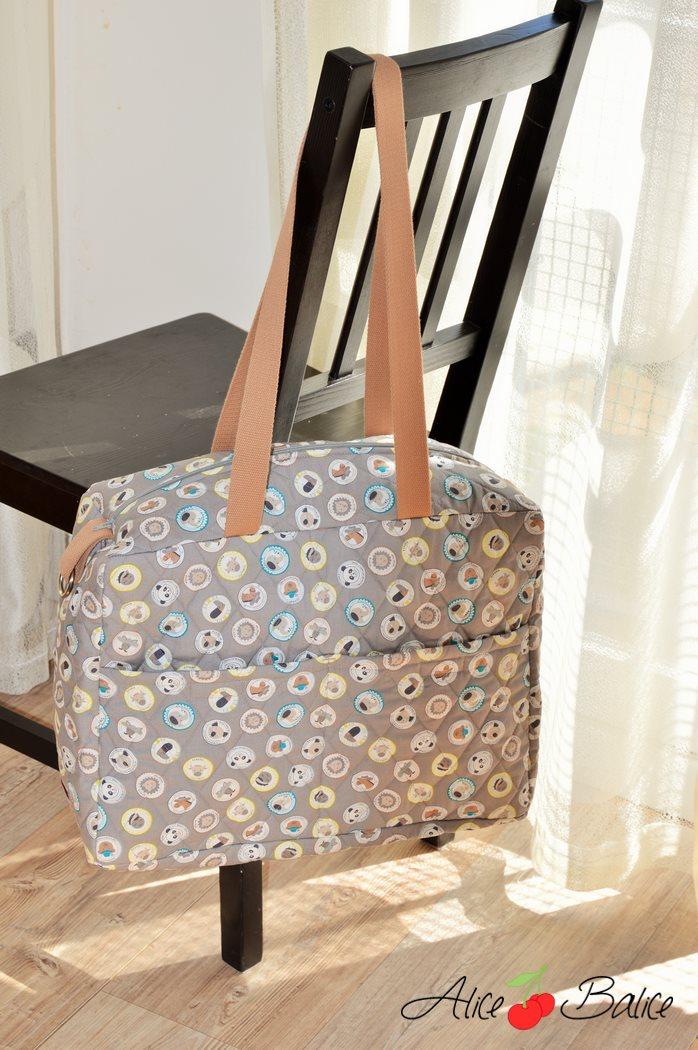 alice balice | sac à langer fétiche | grand | trousseau de naissance | bébé