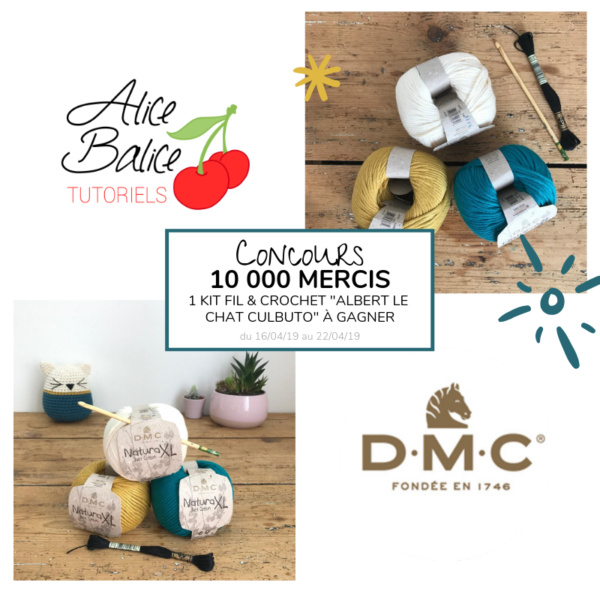 alice balice | 10 concours DIY pour fêter mes 10000 followers sur Facebook | dmc