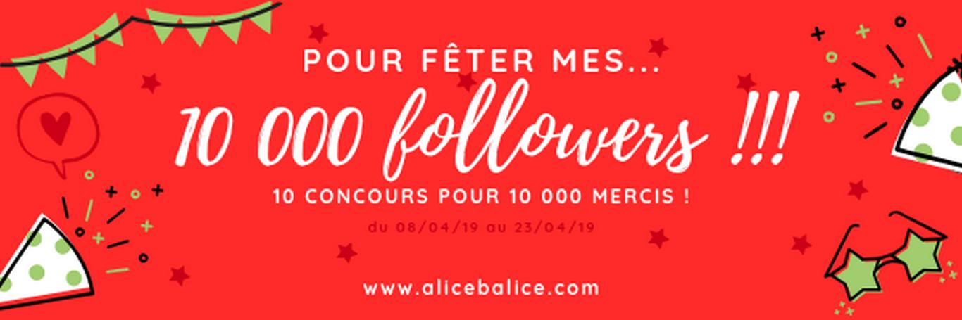 alice balice | 10 concours DIY pour fêter mes 10000 followers sur Facebook
